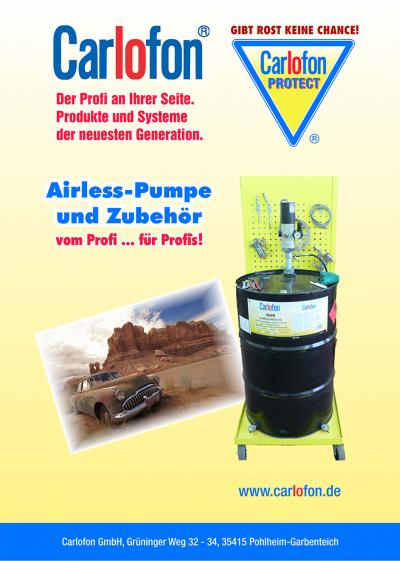 Airless-Broschüre
