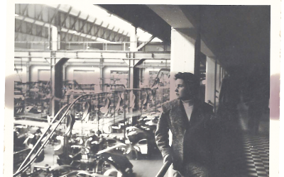 CARLOFON PROTECT 1956 Besuch im VW-Werk